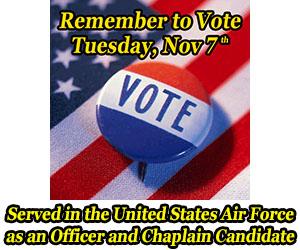 Vote on Tuesday, November 7
